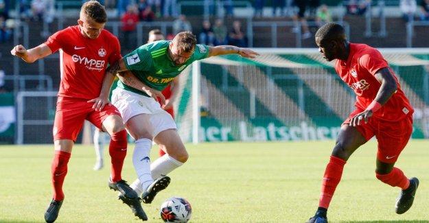 L'entraîneur Hildmann y a des Erreurs - Kaiserslautern déshonoré à Homburg