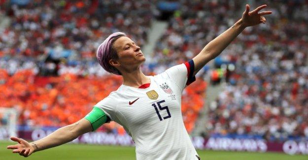 Les femmes de la coupe du monde: Nike maillot de l'US-Femmes le plus populaire Maillot de tous les Temps