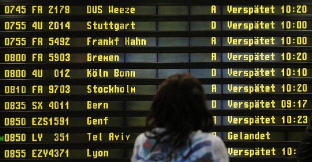 Les retards de vol: Touristiques dans Pünktlichkeits-Check