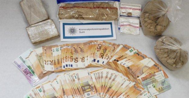 L'héroïne, la Cocaïne, de l'Argent liquide: les Trafiquants de drogue de la Thuringe, par les temps qui courent