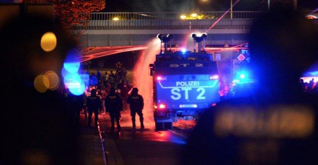 Magdeburg - 64 Suspects après l'Ascension, Émeutes identifié