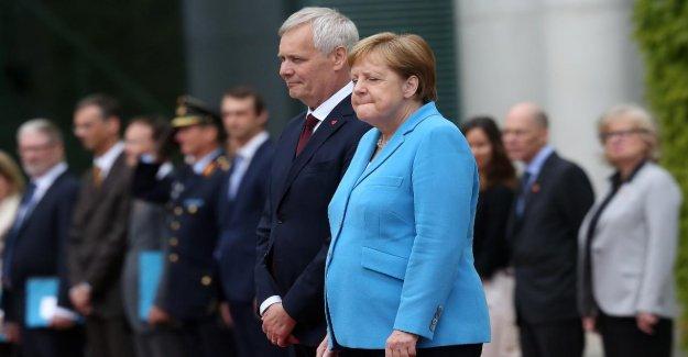 Merkel tiers Zitteranfall: Si inquiet répond à l'Étranger