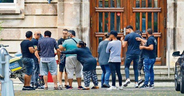 Mülheim-le Viol: Suspect Familles non représentés