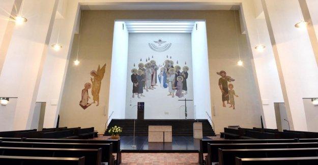 Münster: le Pasteur, le Sermon sur Missbrauchspriester à la Retraite
