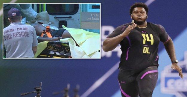 NFL: Kendrick Norton obtenez de l'Hôpital Facture après l'Amputation payé