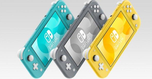 Nintendo Switch Lite: plus Petite et plus économique, la Console de jeu annoncé