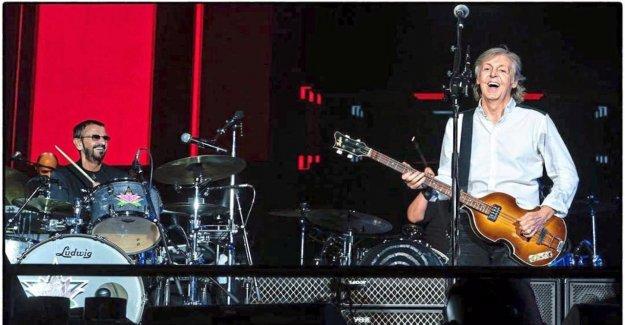 Paul McCartney invite Ringo Starr sur scène
