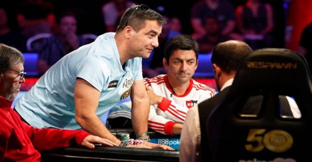 Poker-coupe du monde: Hossein Ensan avant de 10 Millions de Jackpot lors du WSOP Main Event