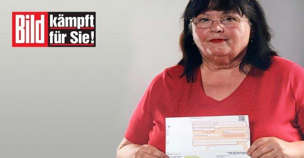 Retraitée devrait 752 Euros payer en plus! IMAGE déclenche le Chaos pour GEZ-Frais