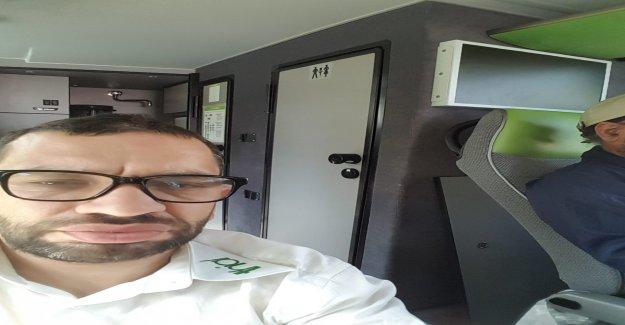 Speiübel dans Flixbus: des Sourds sur WC-Place envoyé en Vue