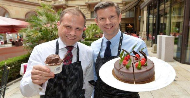 Steigenberger Frankfurter Hof: à Partir de Tarte de la crème Glacée!
