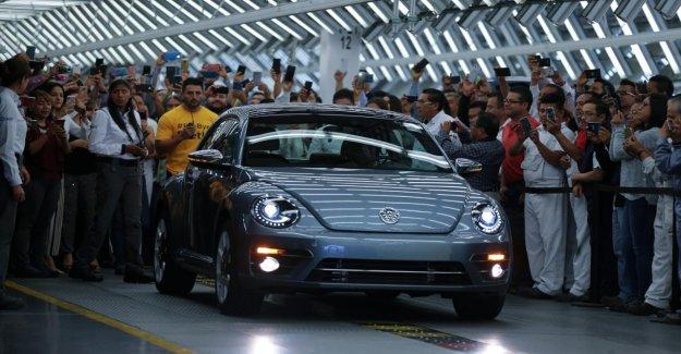 Successeur du Emblématiques de Scarabée de VW: Dernier VW Beetle va partir de la Bande