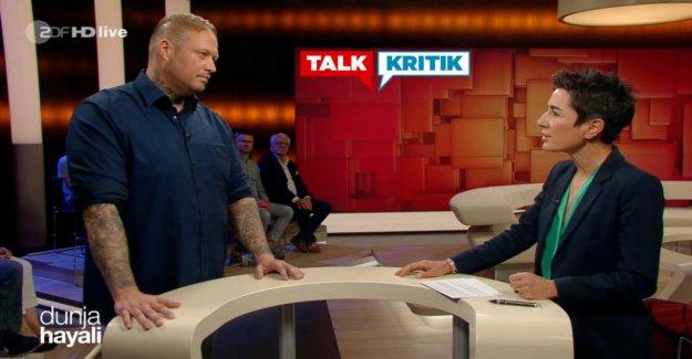 Talk avec Dunja Hayali: Ex-Néonazis met en garde contre consensus pour les droits de la Scène