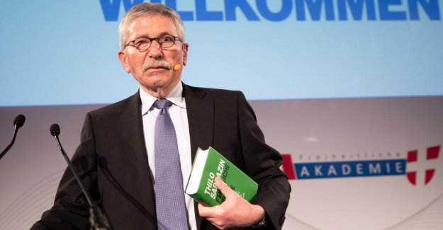 Thilo Sarrazin: SPD ne peut Politiciens s'en débarrasser. Jugement de la commission d'Arbitrage