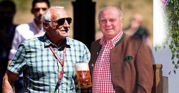 Uli Hoeness contre Dietrich Mateschitz: Bière Pari pour le titre de Champion