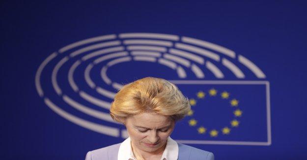 Ursula von der Leyen montre patte blanche au Parlement — Commission européenne