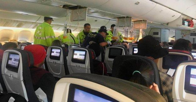 Vol en raison de Turbulences à Hawaii zwischengelandet: 37 Blessés