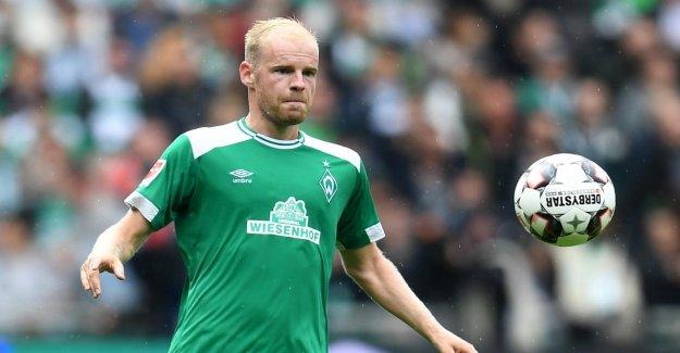 Werder Brême: Davy Klaassen, qui a concédé Pferdekuss contre Darmstadt