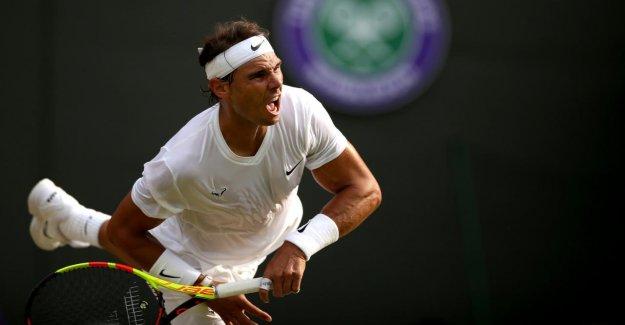 Wimbledon-demi-Finale: Rafael Nadal demande à Roger Federer dehors