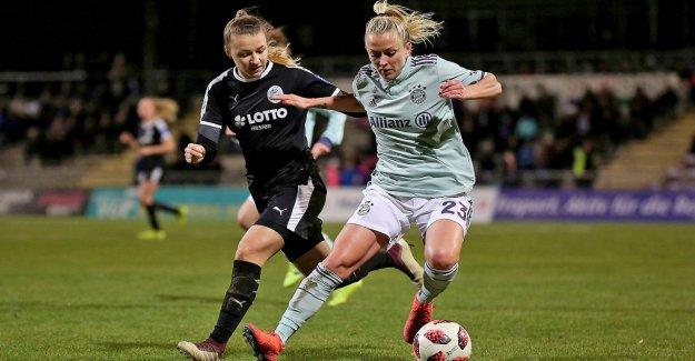 ARD - sports show veut maintenant les Femmes de Football montrent