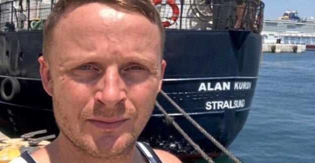 Alan Kurdi'-Journal de bord, dernier Jour: Le Travail des Sauveteurs de la mer est la bonne, mais ...