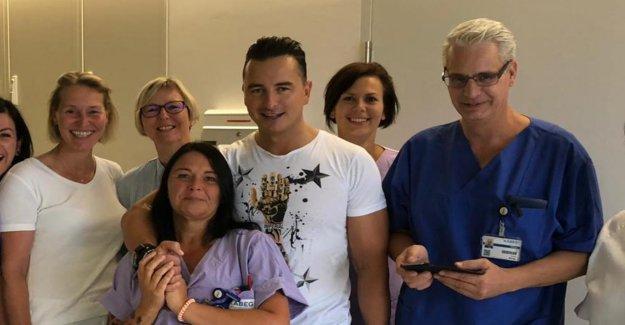 Andreas Gabalier à partir d'Hôpital: L'Aspect le Samedi, je vais balancer