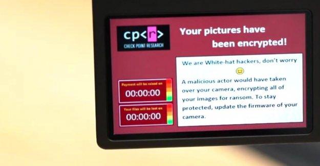 Les reflex numériques pourraient également être la cible de logiciels malveillants (vidéo)