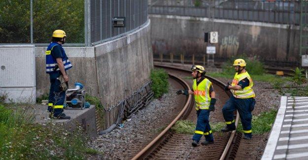 Après le S-Bahn-Chaos - à Cause de l'Eau baisse trouvé