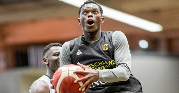 Basket-coupe du monde: Dennis Schröder n'avez pas Peur de n'avoir