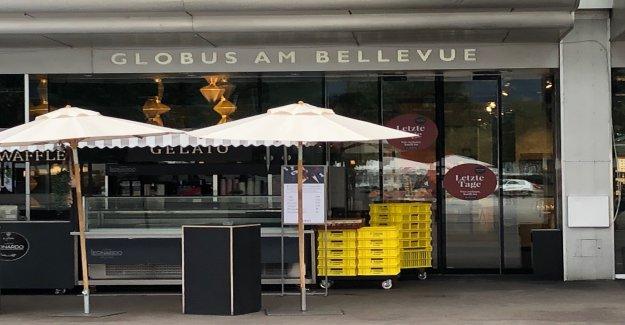 Bellevue-Globe doit sortir pour cause de rénovation complète de l'Immeuble - Vue