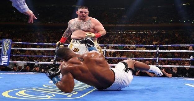 Boxe: Tourbillon autour de Joshua Revanche contre Ruiz - Vue