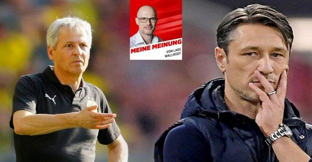 Bundesliga: Seulement Blabla de Kovac et Favre dans la Meisterfrage