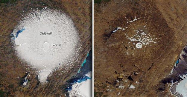 Changement climatique: l'Islande pleure morts Glacier