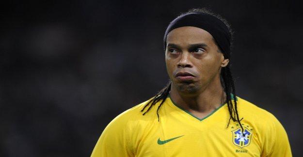 De la dette, de l'Alcool, Passeport confisqué: Ronaldinho, tout en bas, la Vue à