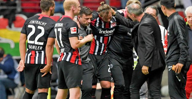 Eintracht Francfort: Marco Russ avec Achillessehnenriss en Europa League