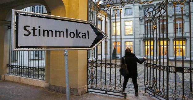Elections au conseil des etats, à Zurich: les Verts attaquent le Siège de Hommes - Vue