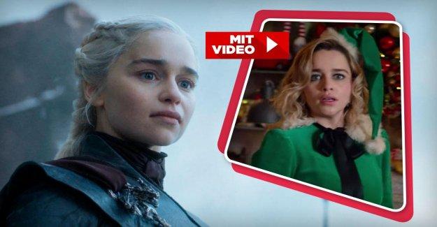 Emilia Clarke dans Last Christmas: De la Drachenkönigin à Onze