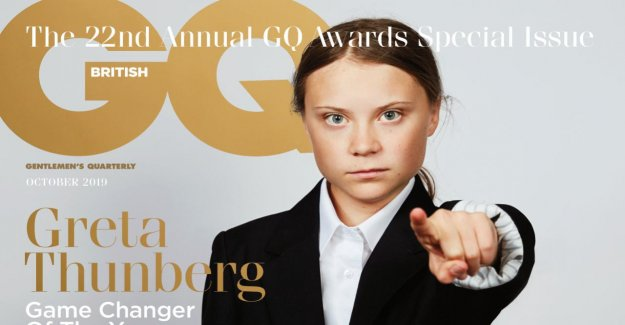 Greta Thunberg: Klimaaktivistin sur le GQ-Cover