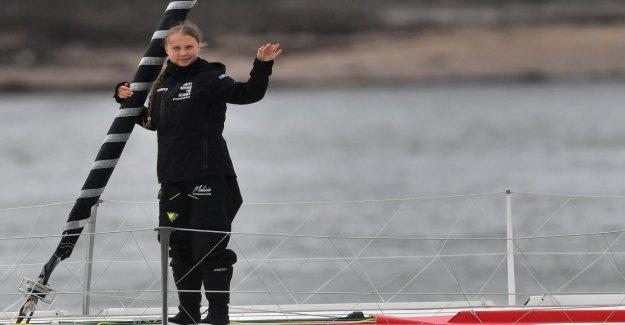 Greta Thunberg: Vol à destination de New York aurait moins de CO2