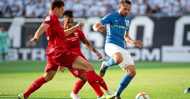Hansa Rostock: 0:1 contre Dijon, les Plaies léché