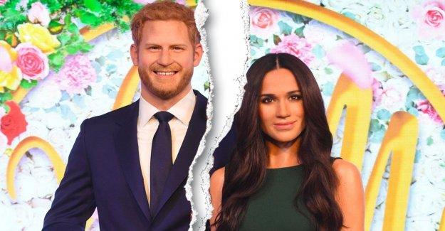 Harry et Meghan: Madame Tussauds sépare Royal Paire