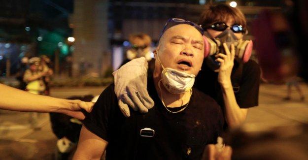 Hong kong: Nouveaux Incidents dans la City, des gaz Lacrymogènes contre les Manifestants