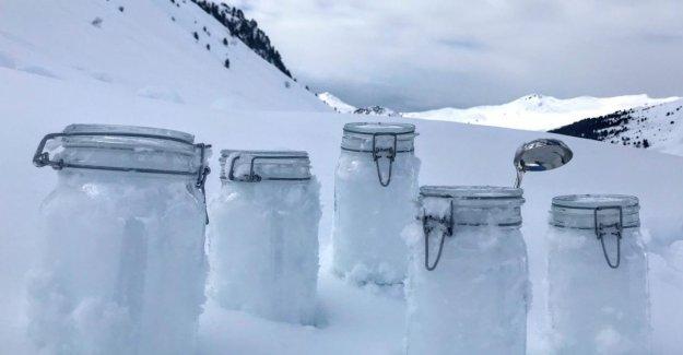 Il neige Mikroplastik – dans les Alpes comme dans l'Arctique