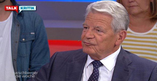 L'Ex-Président de la confédération s'en moquent prix Nobel pour le Climat-Greta: Gauck trouverais ça original