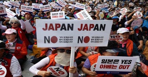 La corée du sud aggravée différend commercial avec le Japon, suite - Vue