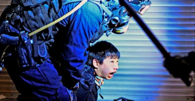 La violence à l'encontre de Hong kong Contestataires: Bundestagszeitung minimisé la Chine
