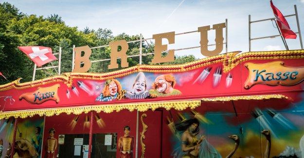 Le Cirque Beat Breu est à l'Extrémité de la Vue