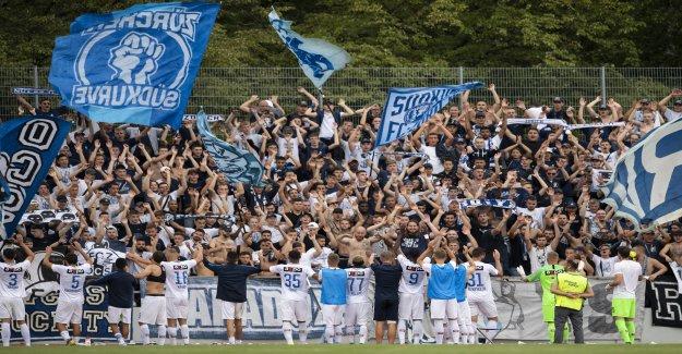 Le FC Bâle et le FC Zurich, dans la 2. Coupe-Tour - Vue
