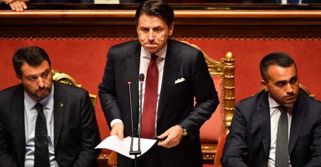 Le Gouvernement italien a terminé: Premier Conte se retire!