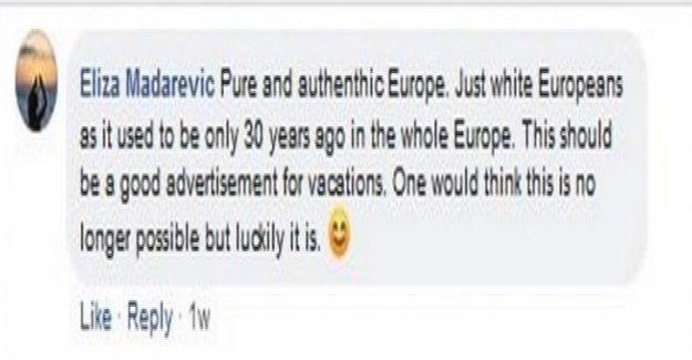 Le racisme-le Scandale du Diplomate croate - Vue